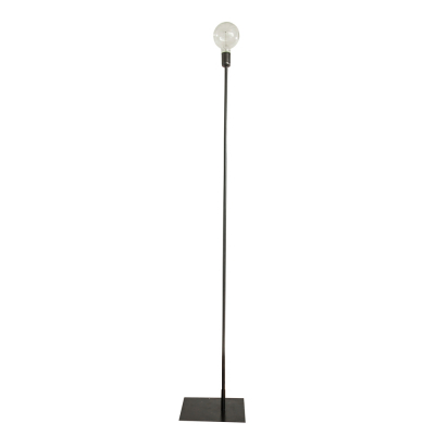 STRAIGHT UP BLACK FLOOR LAMP